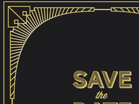 Speakeasy event, save the date