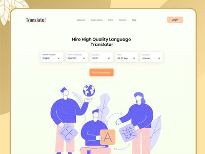 language translator Page