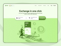 Exchange Bitcoin Page