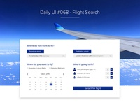 Daily UI | #068 | Flight Search