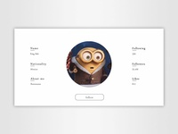 Daily UI | #006 | User Profile