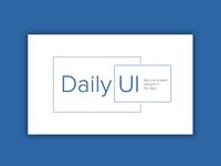 Daily UI | #052 | Daily UI Logo
