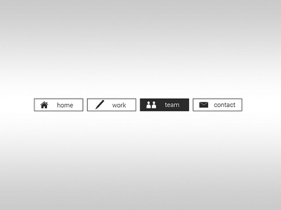 Daily UI   #053   Header Navigation work simple web header navigation ux ui daily ui