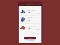 Daily UI | #058 | Shopping Cart