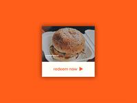 Daily UI | #061 | Redeem Coupon