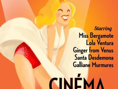 Burlesque poster burlesque movie poster marylin monroe girl