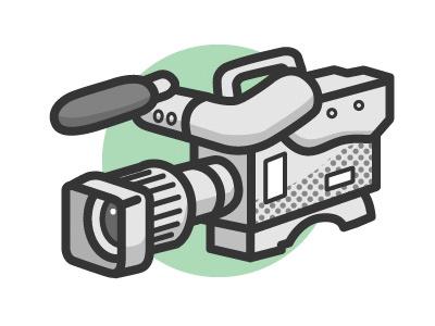 Camera camera gray icon picto video
