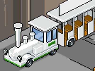 Petit Train (small train) train pixel pixel-art