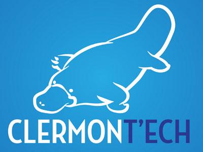 Clermont'ech logo association playtipus