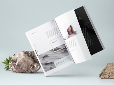 Nano Canva Proposal Template creativemarket print page ebooks ebook minimal stationery brochure magazine layout brand canvas print canva template canva