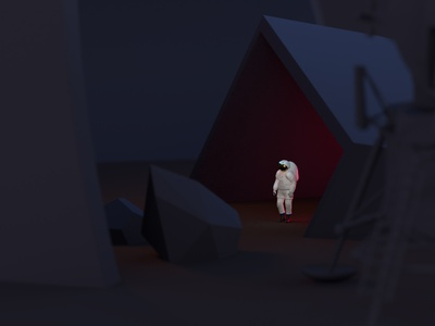 Surreal Colonizer spacestation cosmonaut dimension adobe dimension 3d timetravel travel cosmic cosmos spaceship space mission astral astronaut surreal