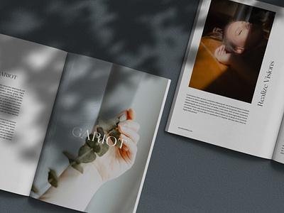 GARIOT minimal natural shadow mockup psd magazine mockup photoshop template mockup template