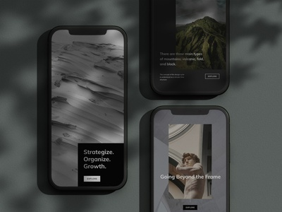 Gariot Phone Mockups mockup template device iphone x phone iphone phtooshop mockup psd mockup illustration presentation minimalistic template minimal layout brand