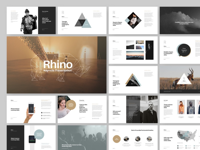 rhino keynote presentation by goashape dribbble dribbble