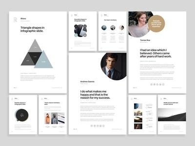 A4 Rhino Showcase document layout keynote presentation print a4