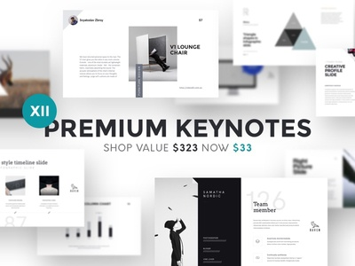 (90% OFF) Premium Keynotes + 5 Gifts