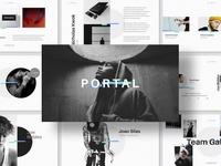 Portal Keynote Presentation Template
