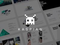 KASPIAN Keynote Presentation Template