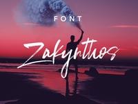 Zakynthos Font