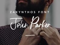Zakynthos Font preview