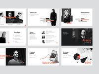 Corp. Presentation Template