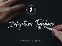 Zakynthos Handwritten Typeface