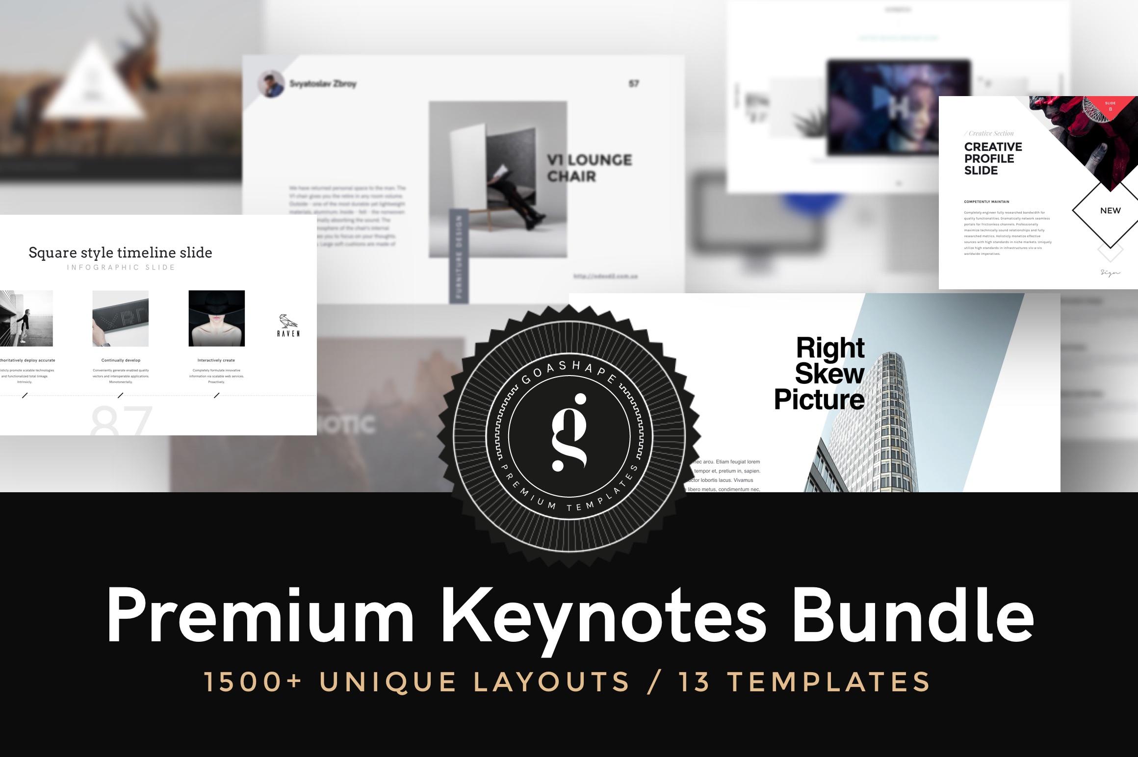 Premium keynotes by goashape cover