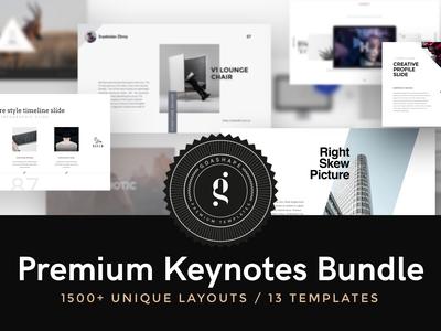 Premium Keynotes Bundle By Goashape