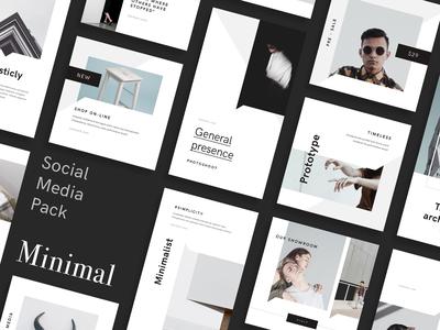 Minimal Social Media Pack