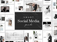 Smart psd social media pack by goashape cover