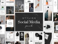 Stylish social media pack by goashape cover 2