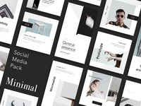 Minimal social media pack by goashape cover