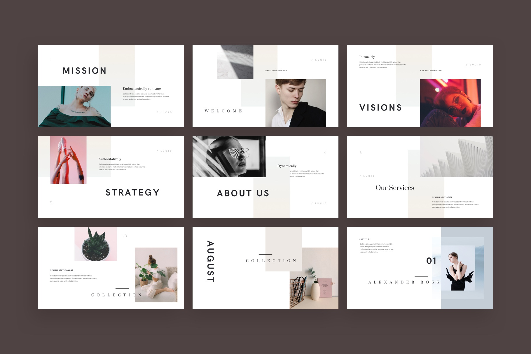 Lucid keynote presentation template by goashape 1