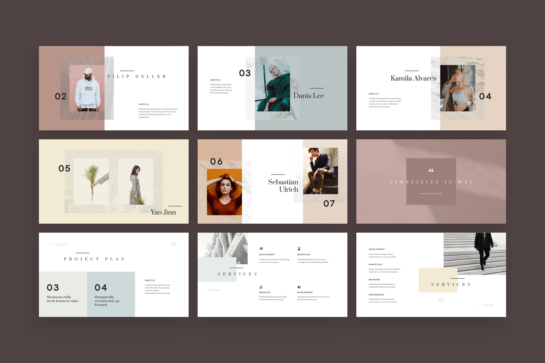 Lucid keynote presentation template by goashape 3