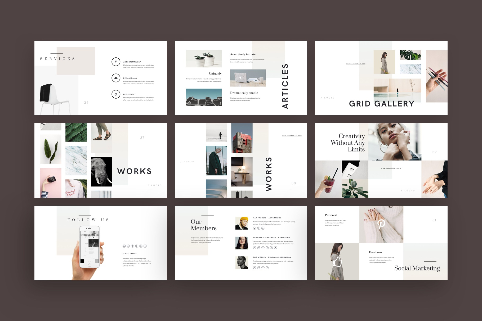 Lucid keynote presentation template by goashape 5