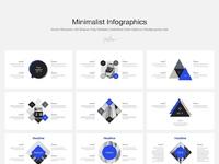 Minimalistic keynote infographics template by goashape full showcase