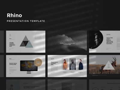 Rhino Presentation Template
