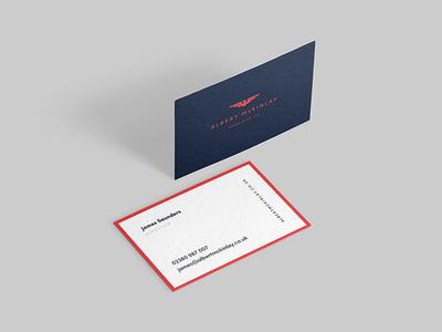 Albert McKinlay Associates Business Cards