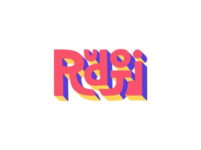 Rudoji Logo - Reject