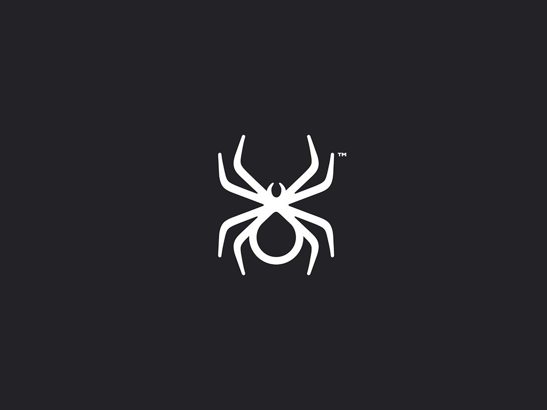 """Spider """"Network"""" web spider logo security secure cloud server spider"""