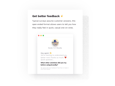 Feature Card copywriting flat website design card ux ui white