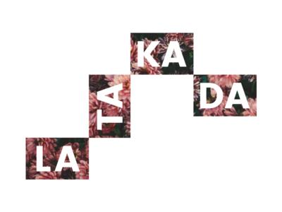 Latakada fashion pink flower logo