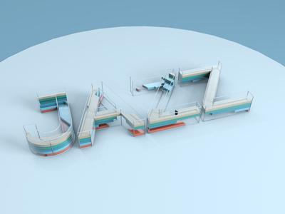 3D Type Experiment – Jazz