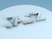3D Type Experiment – Jazz