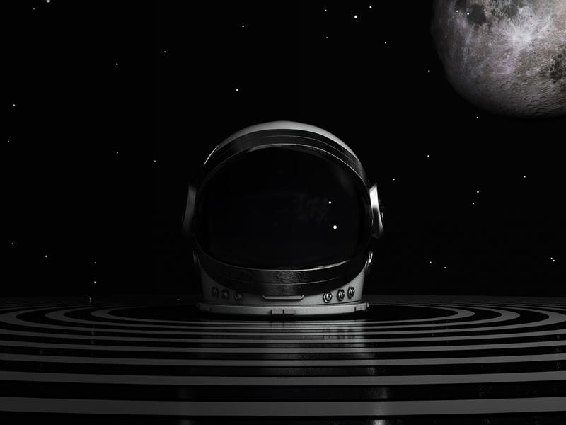 3d Modeling Practice – Space Helmet