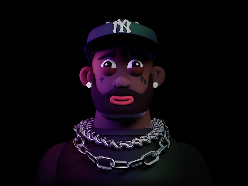 3D Modeling Practice – Rapper