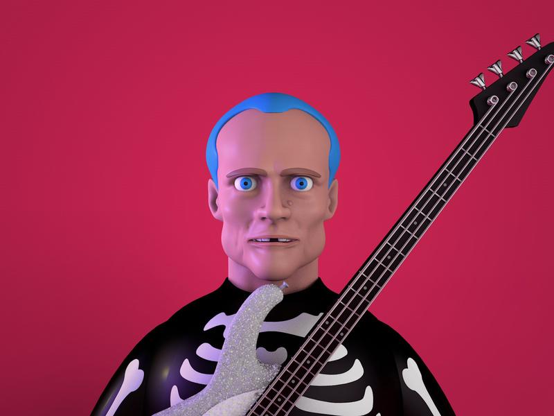 3d Practice – Flea