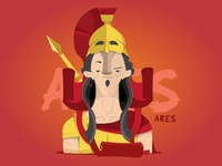 Ares - Greek Gods Series