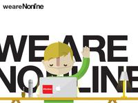 Nonline illustrations