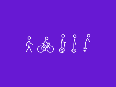 Evolution flying board hover board segway bicycle walking icon icons
